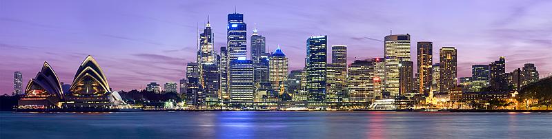 Sydney Skyline @ dusk